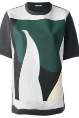 Marni Abstract Printed Tshirt - Lyst