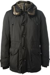 Moncler Hooded Jacket - Lyst