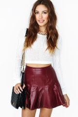 Nasty Gal Young blood Skirt - Lyst