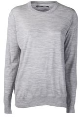 Proenza Schouler Ribbed Crew Neck Sweater - Lyst