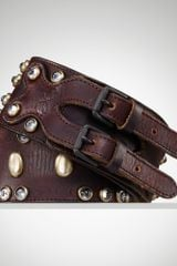 Ralph Lauren Distressed Studded Corset Belt - Lyst