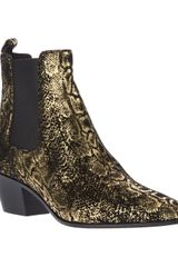 Saint Laurent Ankle Boot - Lyst