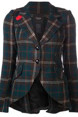 Smythe Plaid Print Jacket - Lyst