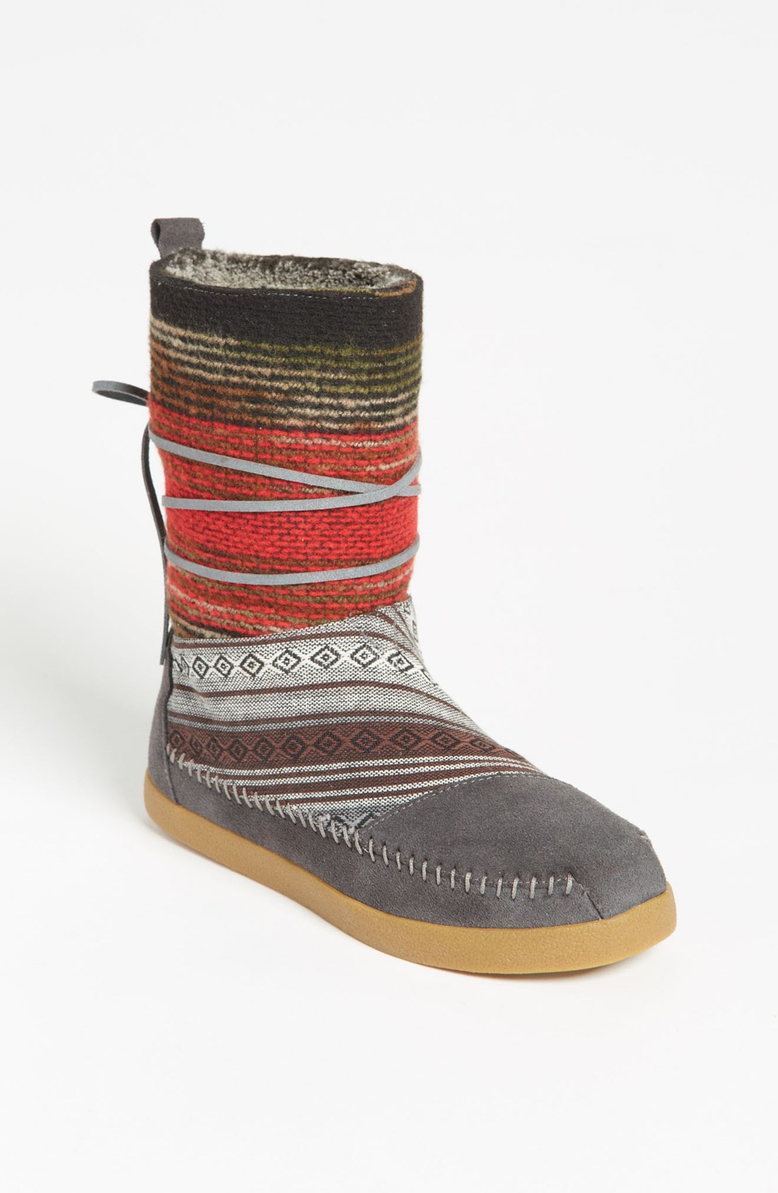 Toms Nepal Boot In Gray (Mixed Woven) | Lyst