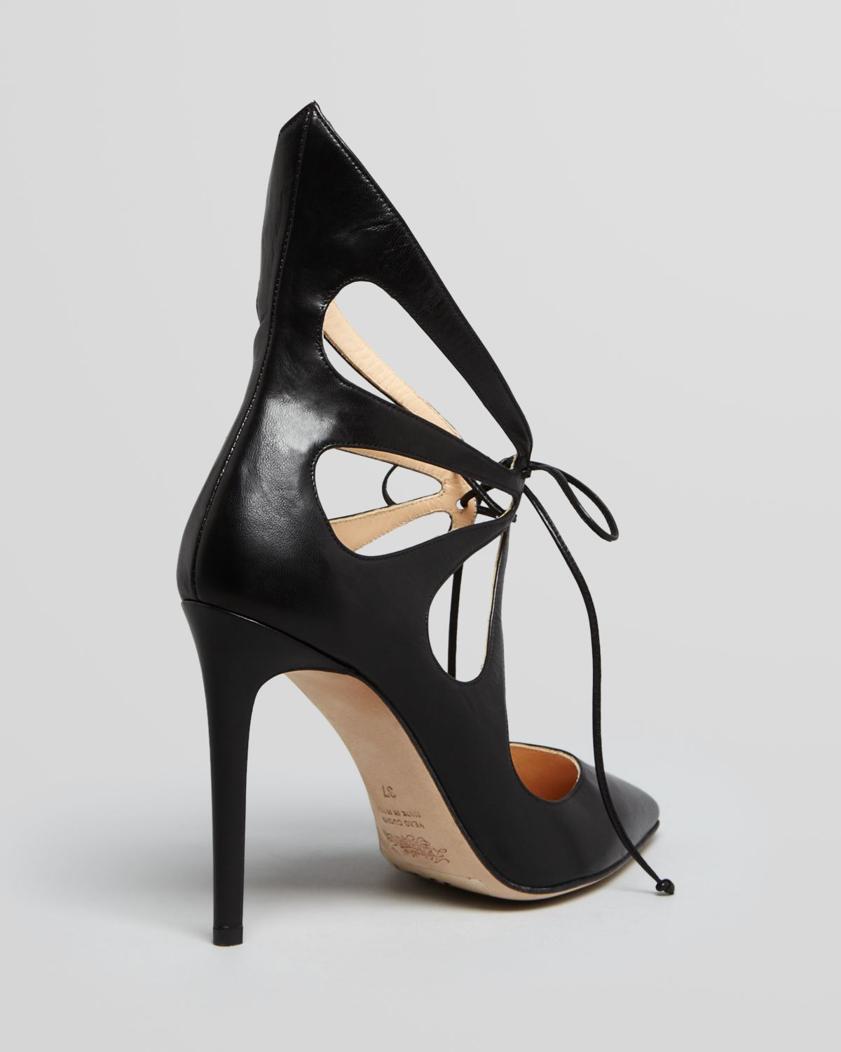 Alejandro Ingelmo Leather Cutout Pumps eastbay online cheap sale order discount get to buy cheap pay with paypal vRH4Tw