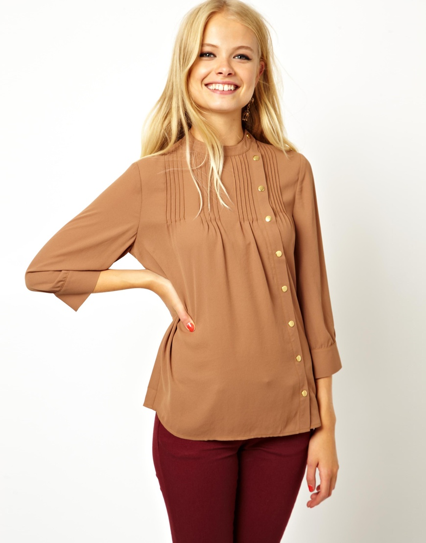Shop for women's tops from ASOS. Shop for shirts, blouses, camisoles and going out tops, in trendy styles - sleeveless, sheer and mesh. Order now at ASOS.
