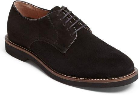 g h bass co buckingham buck shoe in black for lyst