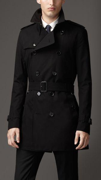 Burberry Waterproof Gabardine Rain Hat In Black Car Interior Design