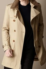 Burberry Mid Length Trench Coat with Warmer - Lyst