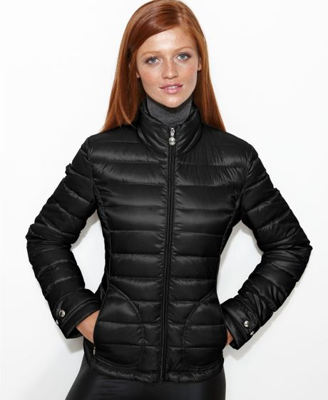 Calvin Klein Quilted Packable Puffer In Black Lyst