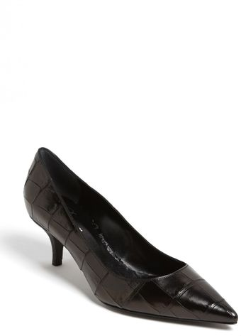 Delman Belle Pointed Toe Pump - Lyst