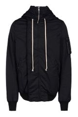 DRKSHDW by Rick Owens Midlength Jacket - Lyst
