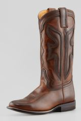 Frye 150th Anniversary Wylie Boot Dark Brown - Lyst