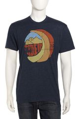 Howe Ocean Ave Midnight Oil Tee Navy - Lyst