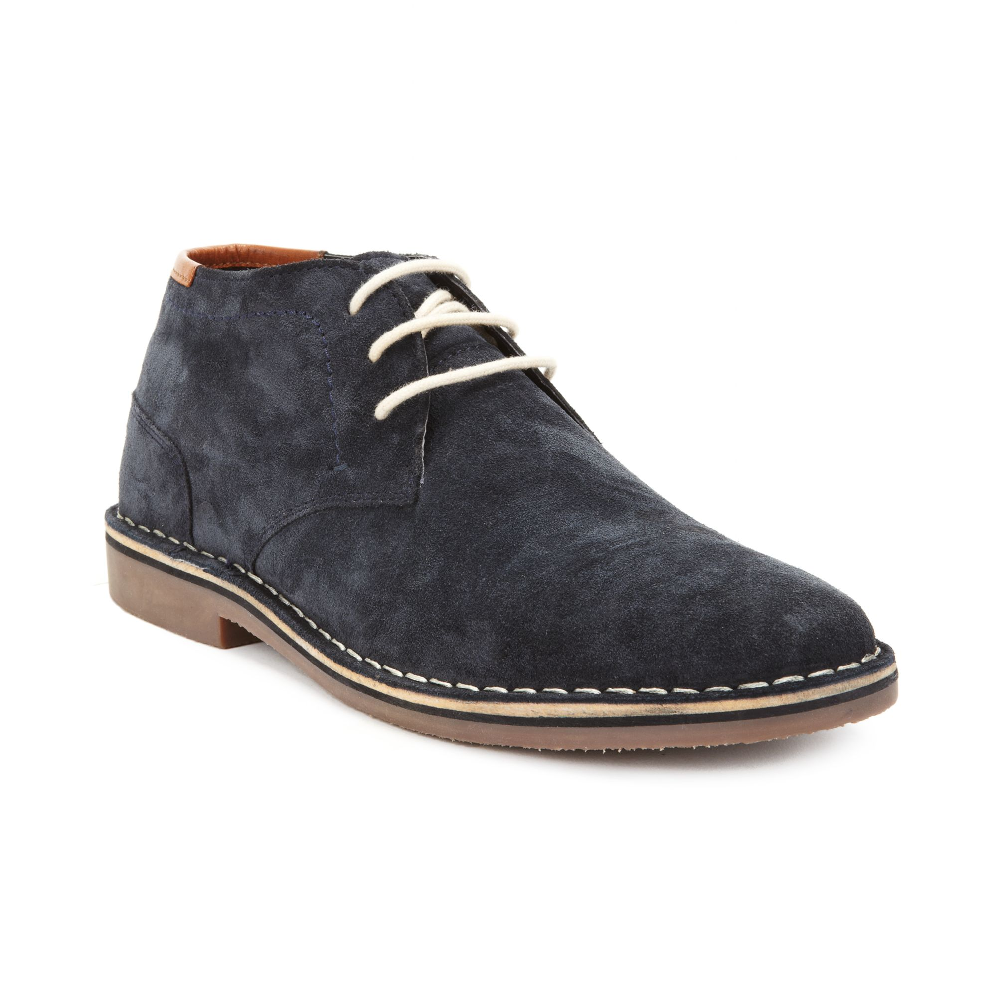 kenneth cole reaction realdeal suede chukka laceup boots