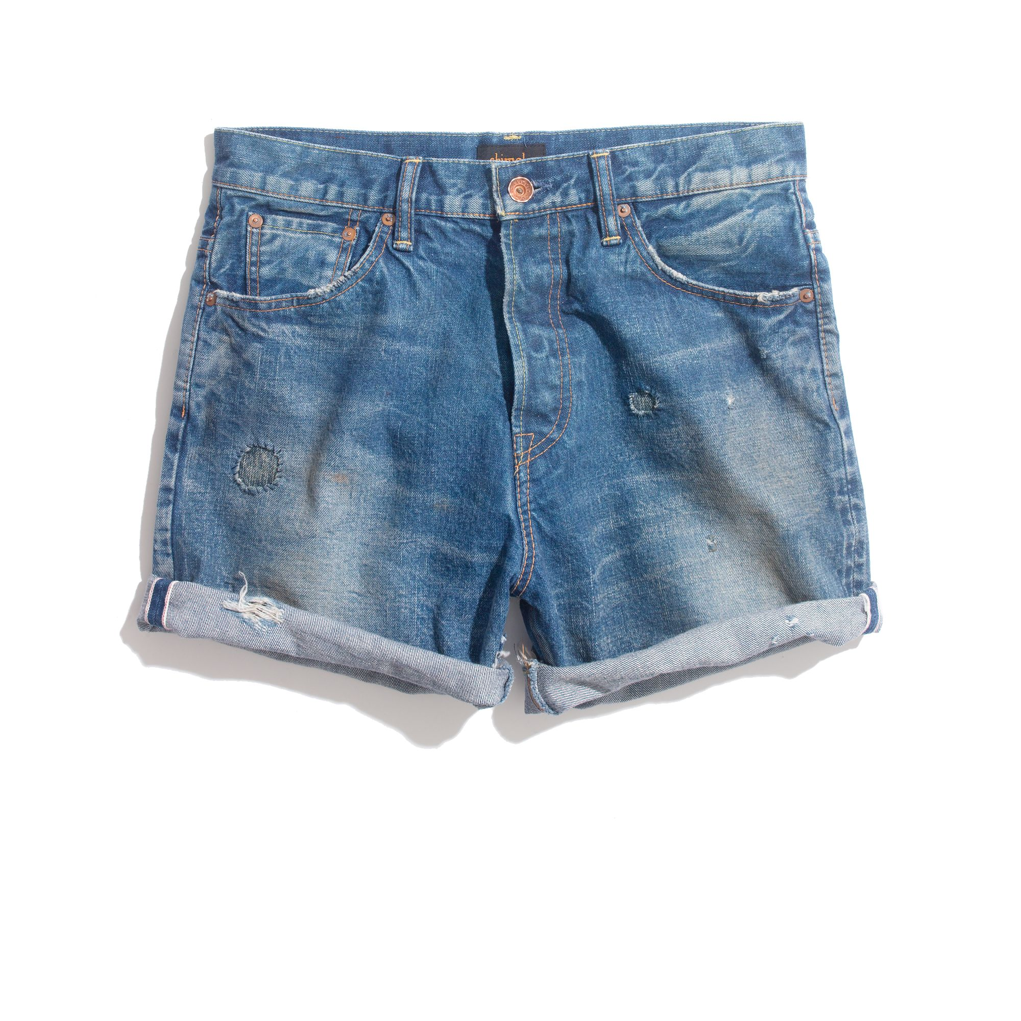 Madewell Denim Boy Shorts in Blue | Lyst