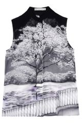 Mary Katrantzou Sleeveless Shirt - Lyst