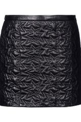 Mauro Grifoni Leather Skirt - Lyst