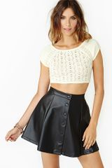 Nasty Gal Short Sweet Knit - Lyst