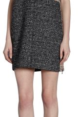 Proenza Schouler Short Sleeve Tweed Tunic Dress - Lyst