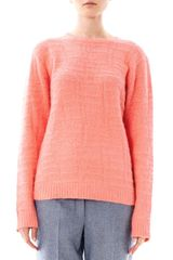 Richard Nicoll Crocodilestitch Angora Sweater - Lyst