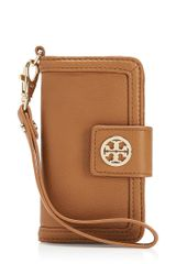 Tory Burch Amanda Smart Phone Wallet - Lyst