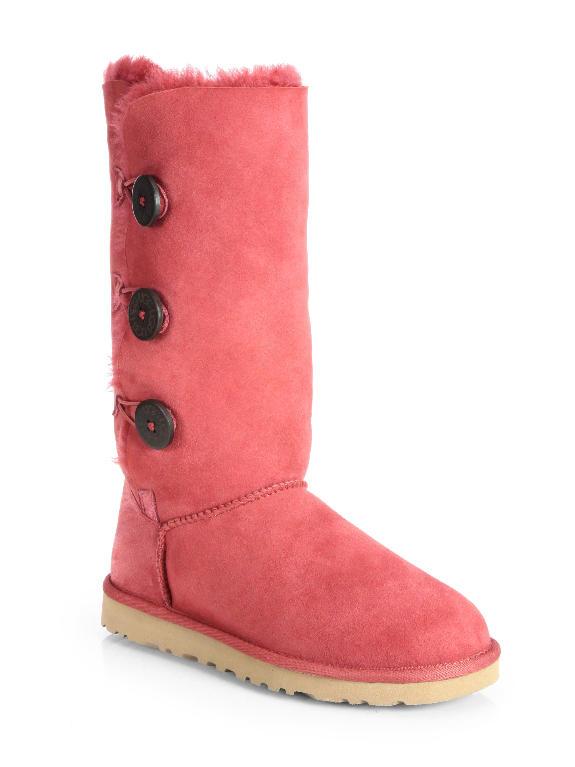 tall pink ugg boots. Black Bedroom Furniture Sets. Home Design Ideas