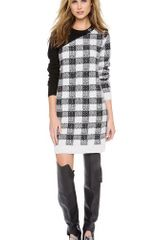 3.1 Phillip Lim Plaid Block Dress with Buckle - Lyst