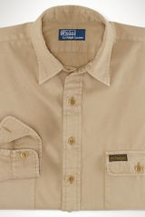 Big & Tall Classic Fit Flap Pocket Shirt - Lyst