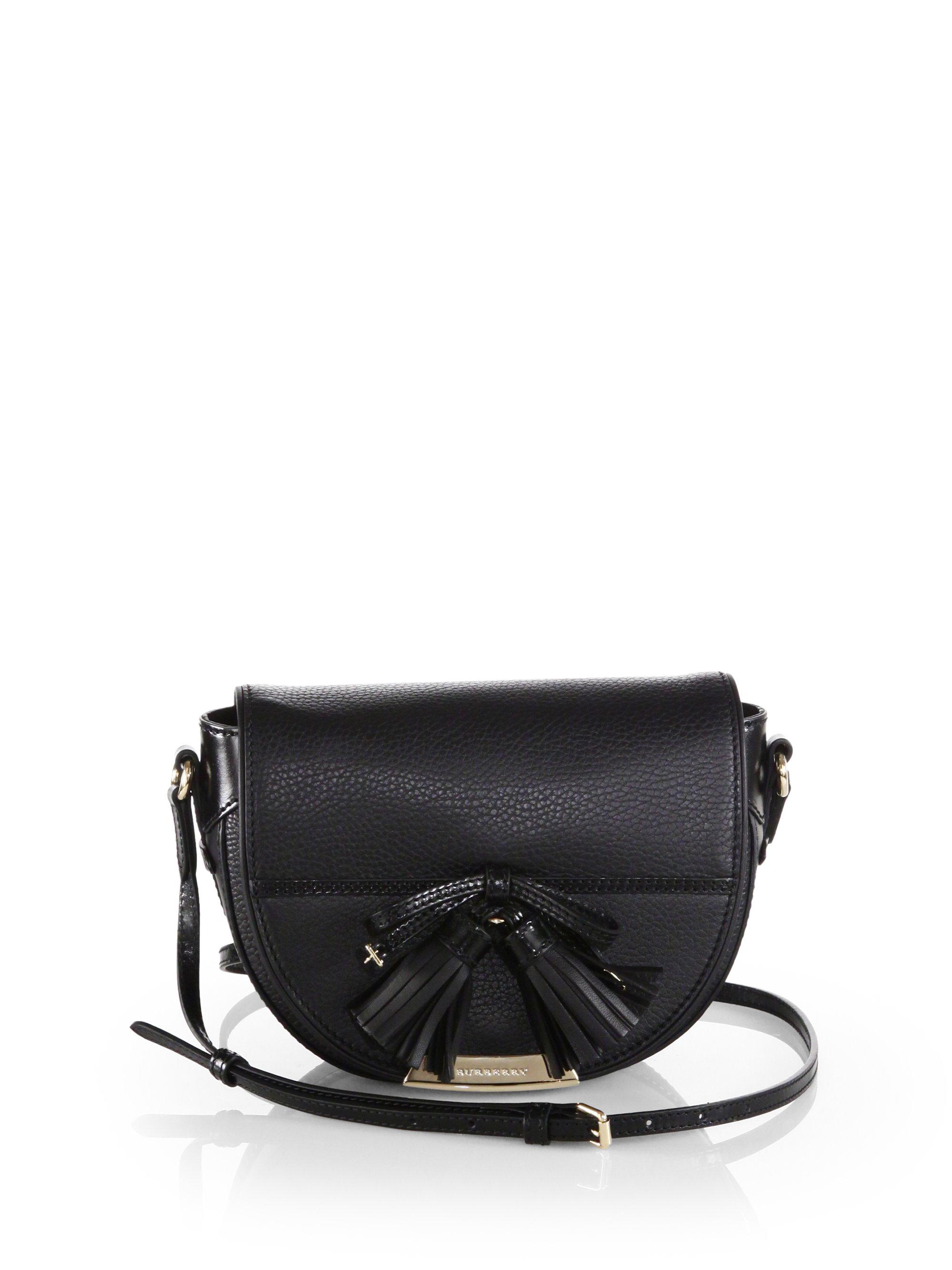 086e99da54e3 Lyst - Burberry Small Maydown Crossbody Bag in Black