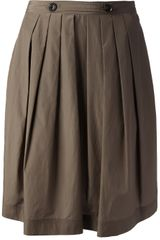 Burberry Brit Pleated Skirt - Lyst