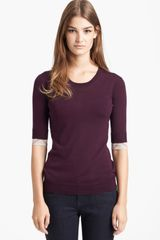 Burberry Brit Merino Wool Sweater - Lyst