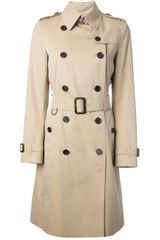 Burberry Burberry London Double Breasted Trench Coat - Lyst