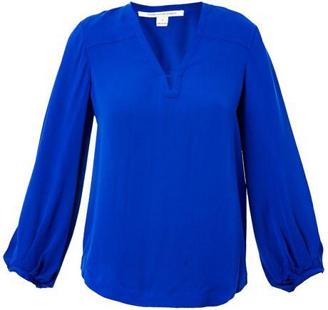 Zara Cobalt Blue Blouse 62