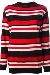 Fausto Puglisi Striped Sweater - Lyst