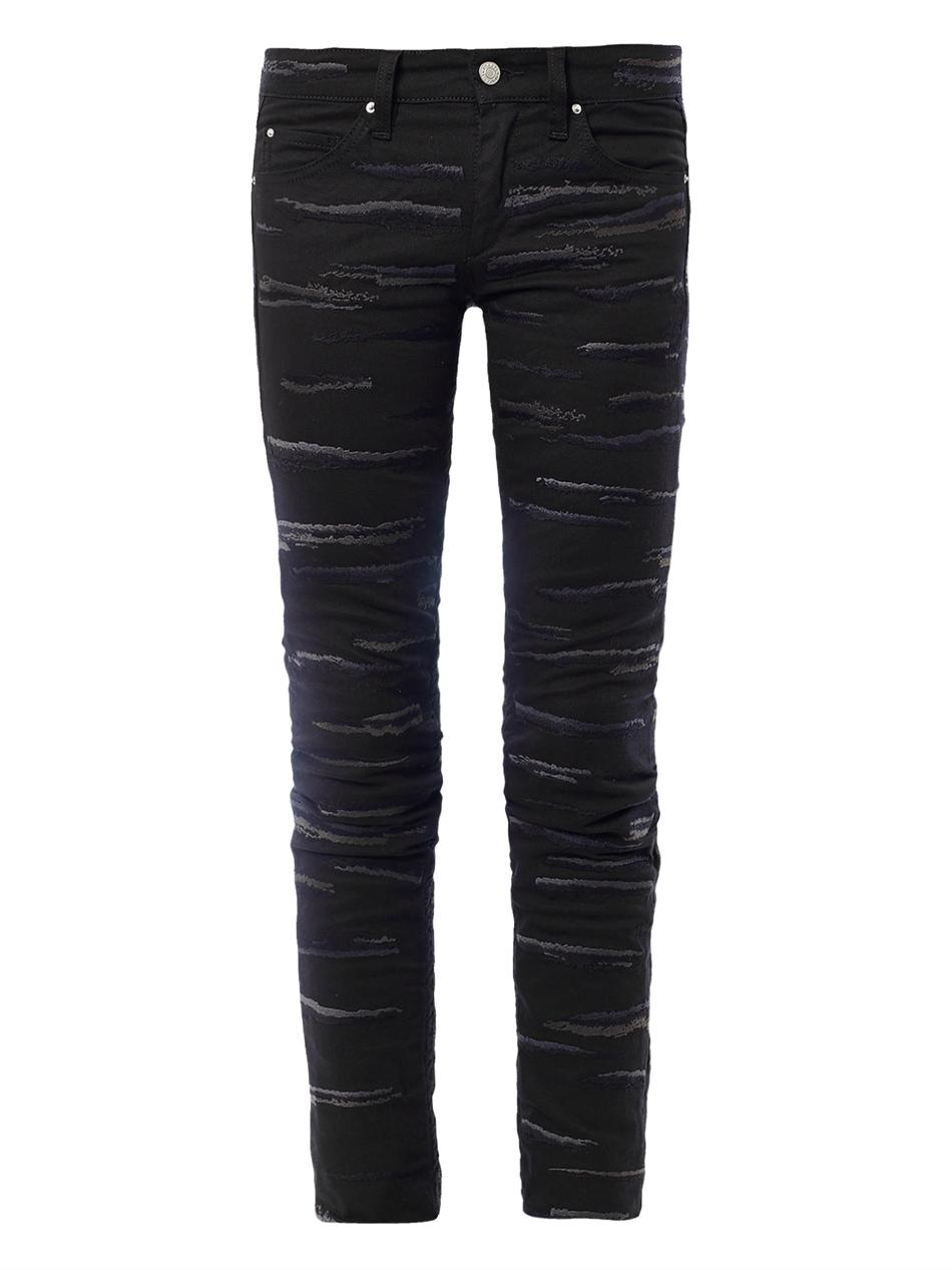 Isabel Marant Denim Pants In Black | Lyst