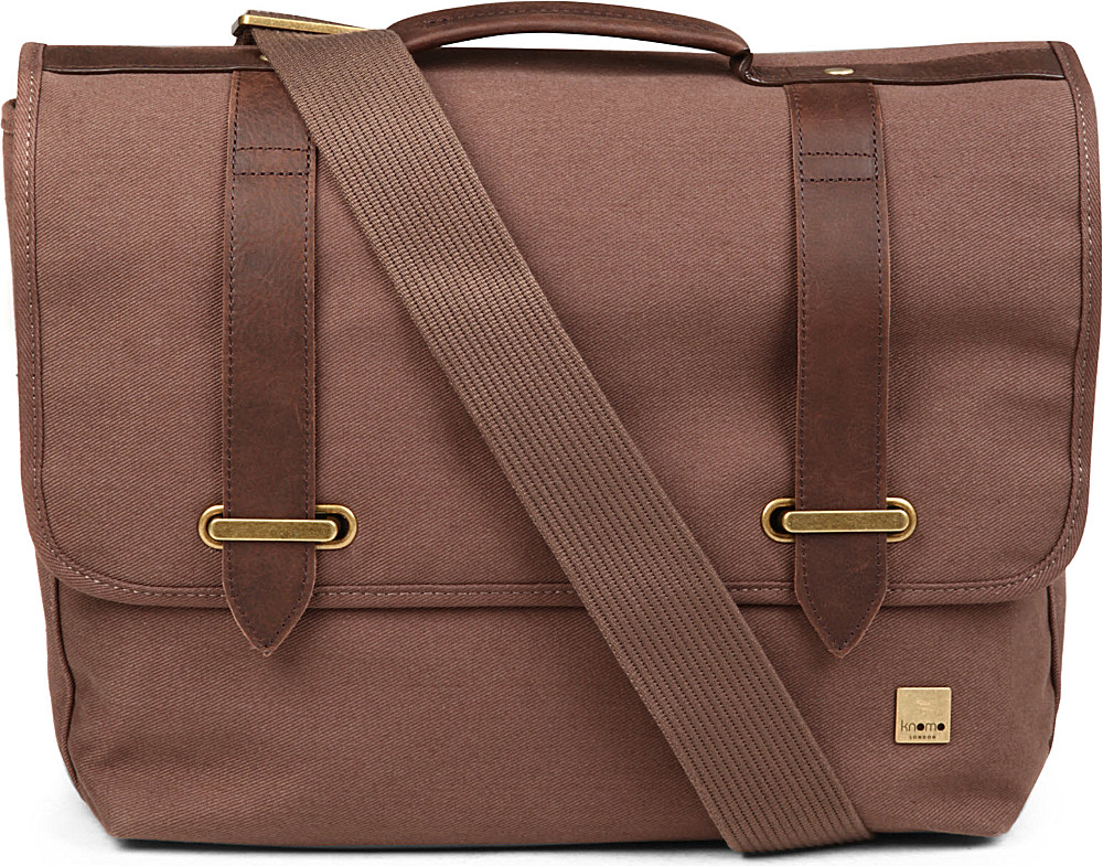 04262754feb0 Knomo Knomo Balham Raleigh Messanger Bag in Brown for Men - Lyst