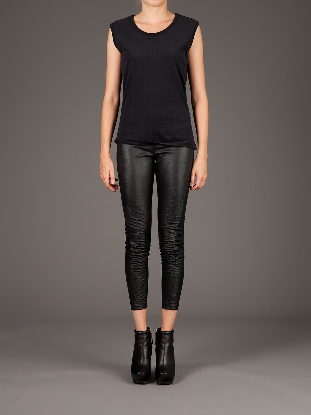 Bluelans Sexy Women Splicing Lace Faux Leather Leggings High Waist Skinny Stretch Pants. Sold by Bluelans. $ Gregg Homme Crave Faux Leather Legging. Sold by His/Her eternal-sv.tk $ Gregg Homme Crave Faux Leather Legging. .