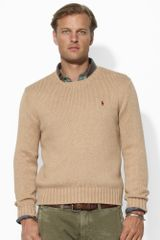Polo Ralph Lauren Cotton Crewneck Pullover - Lyst