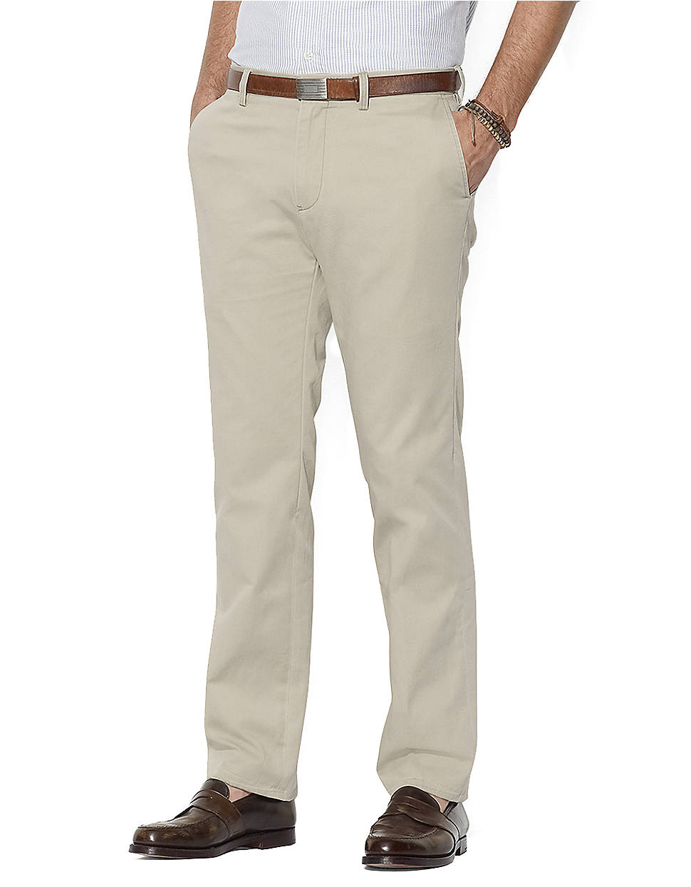 Polo Ralph Lauren Classic Fit Flat Front Chino Pants In