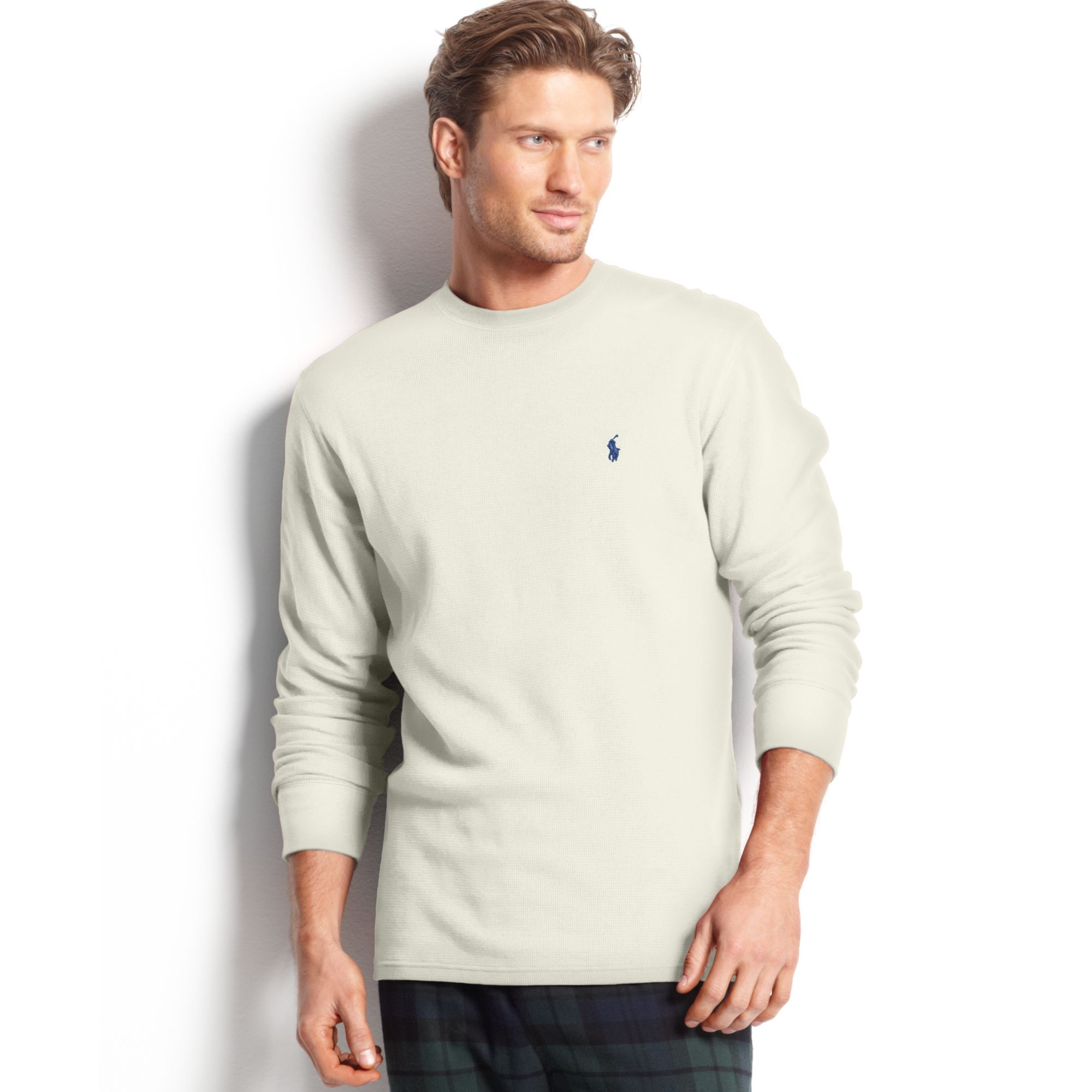 polo ralph lauren big and tall long sleeve crew neck