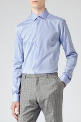 Reiss Driver Formal Shirt with Small Collar - Lyst