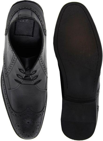 Brogue Boots Asos Asos Brogue Chukka Boots
