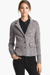 Burberry Brit Tweed Jacket - Lyst