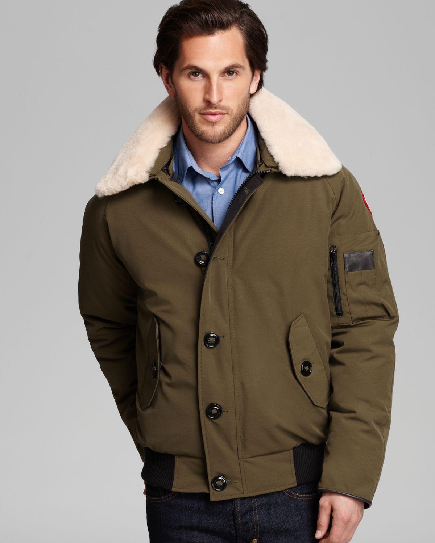 canada goose aviator jacket