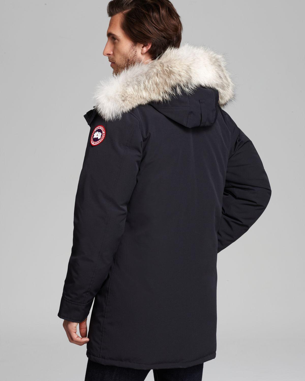 canada goose fur hood