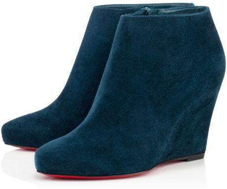 Christian Louboutin Melisa Booty in Blue (almond)