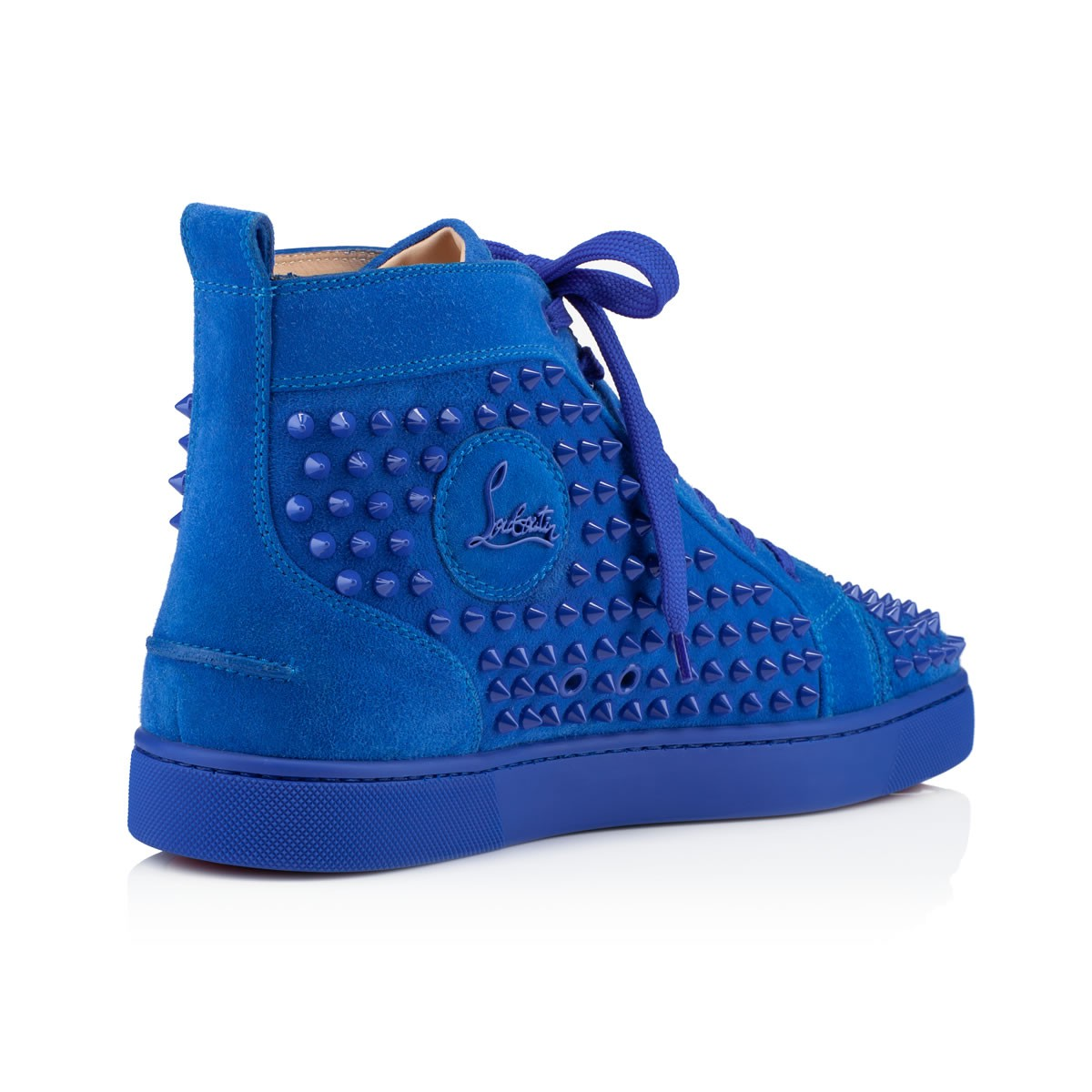 Lyst - Christian Louboutin Men s Louis Flat Sneakers in Blue for Men