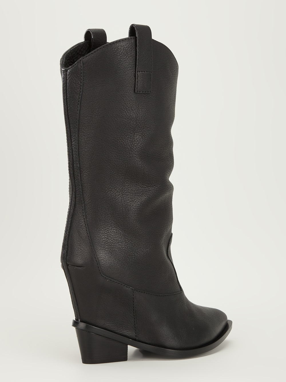03a5266be2ed Lyst - Giuseppe Zanotti Wedge Cowboy Boot in Black