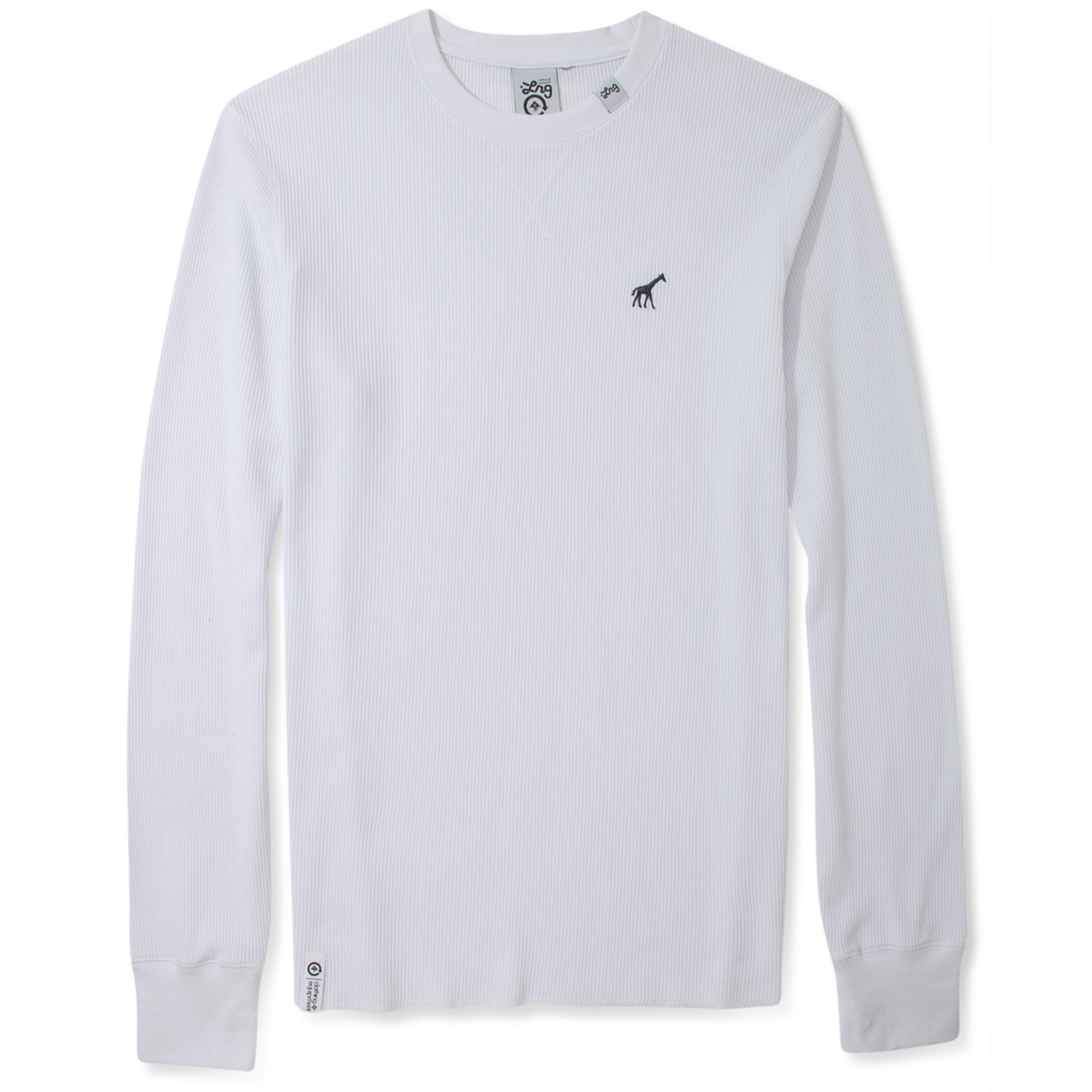 Lyst Lrg Core Collection Thermal Tshirt In White For Men
